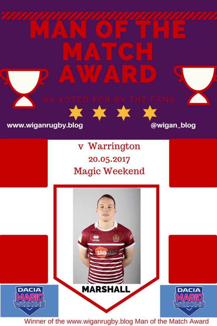 Warrington - Marshall Magic